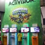 Skylanders da Activision mostrando que é uma das franquias mais importantes da produtora.