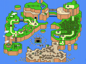 Super Mario World mapa