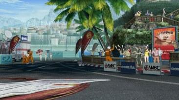 City Circuit, el escenario de Mónaco es una recreación de una de las locaciones de KOF 97.