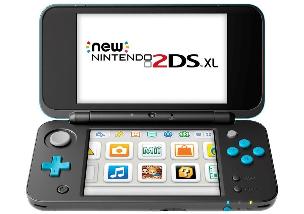 Nintendo revela el New 2DS XL