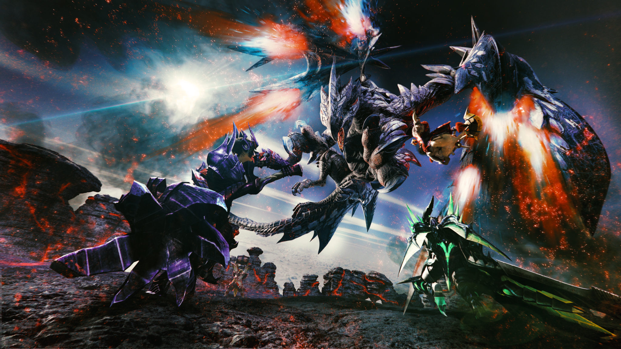 Capcom anuncia Monster Hunter XX para el Nintendo Switch