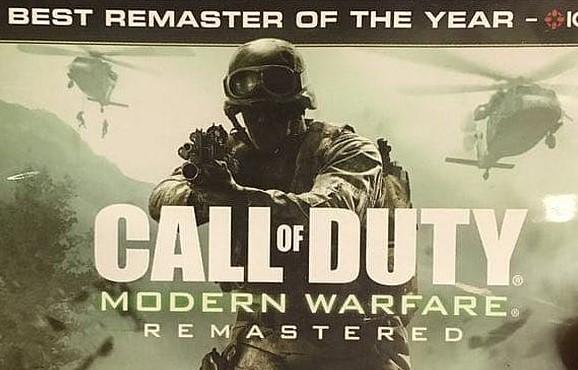 Filtración completa de Modern Warfare Remastered en físico