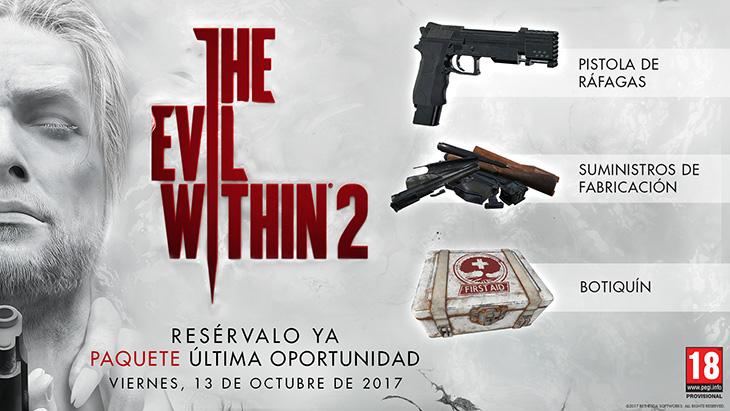 Intenta sobrevivir en el nuevo tráiler de The Evil Within 2