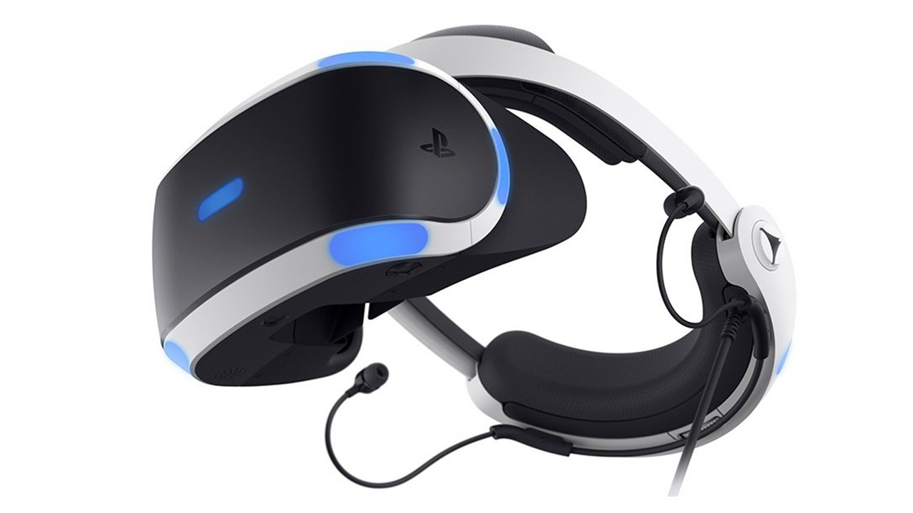 Nuevo modelo de PlayStation VR para PS4 de Sony