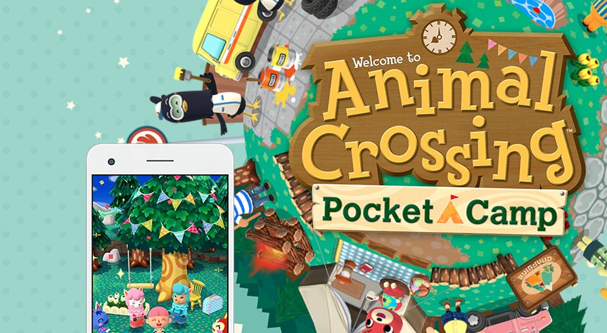 Pocket Camp ya se encuentra disponible en móviles — Animal Crossing