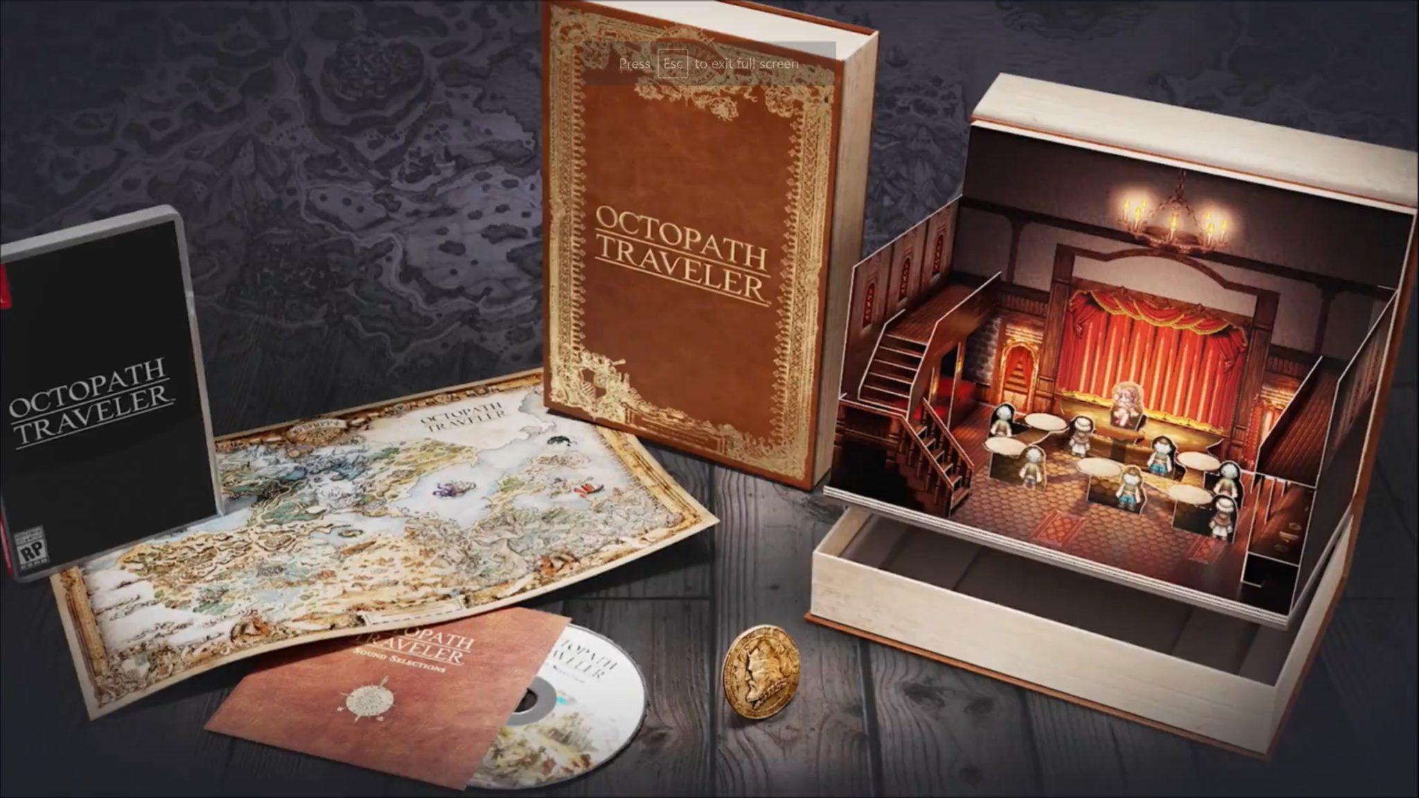 Octopath Traveler ofrece edición de colección y fecha de salida — Square Enix