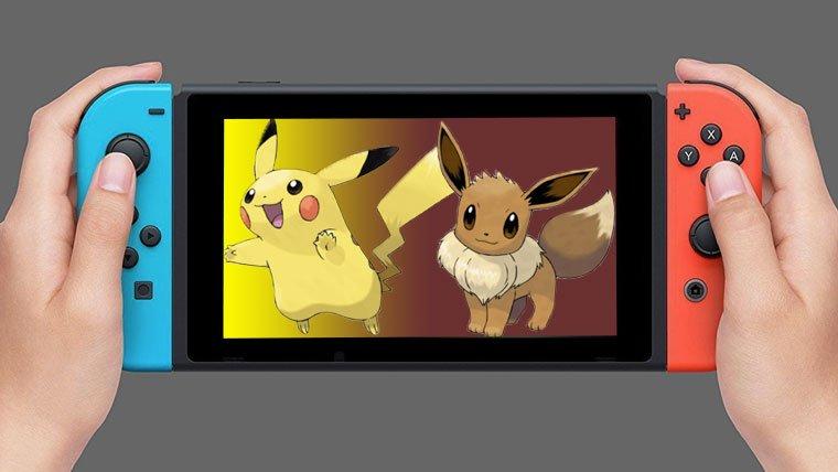 Pokémon Let's Go! Pikachu/Eevee: los presuntos RPG para Switch