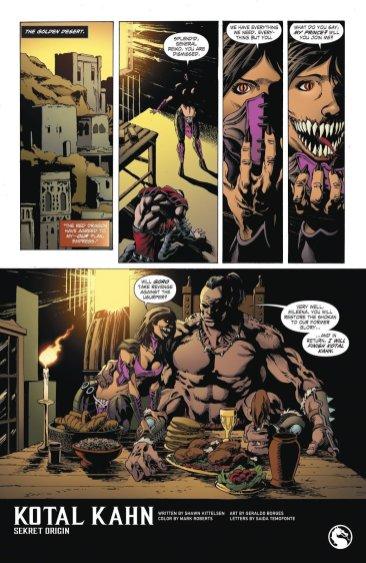 Mortal Kombat (Comic) - Mileena - Goro - Reiko