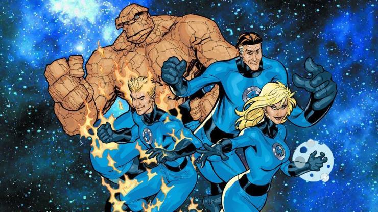 Cuatro Fantásticos - mutantes
