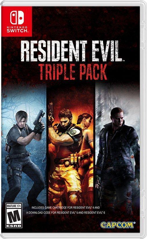 Resident Evil 5 6 - Nintendo Switch
