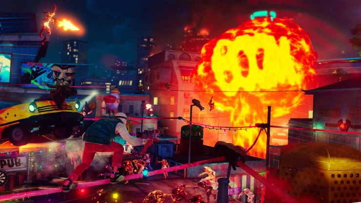 Sunset Overdrive Sony Xbox