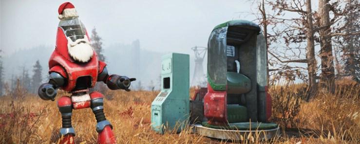 Fallout 76 - navidad