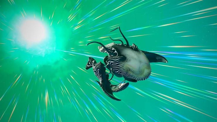 No Man's Sky naves orgánicas