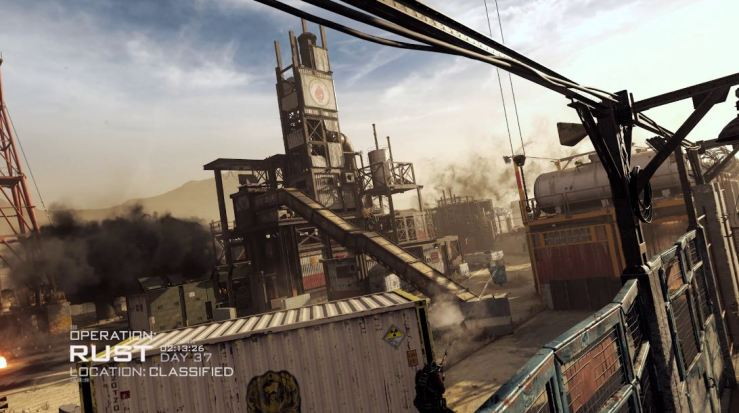 Call of Duty: Modern Warfare mapas temporada 2