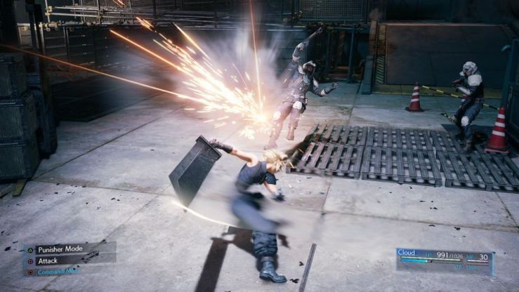 Final Fantasy VII demo