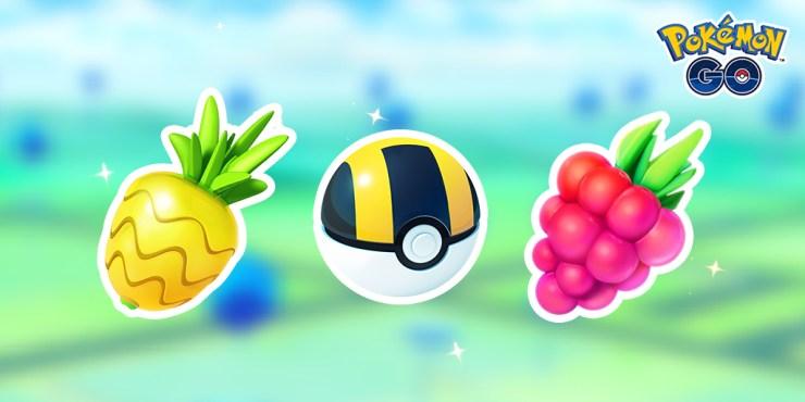 Pokémon GO lote