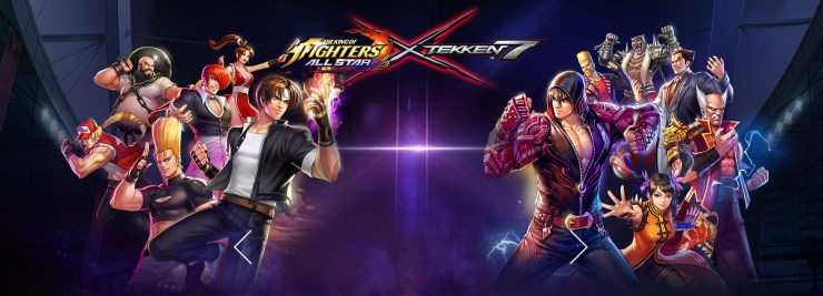 The King of Fighters ALLSTAR - WWE