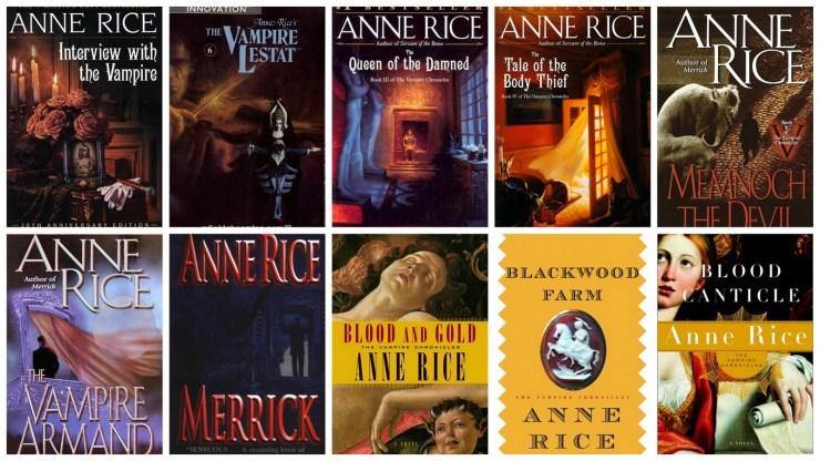 Libros Las Crónicas Vampíricas