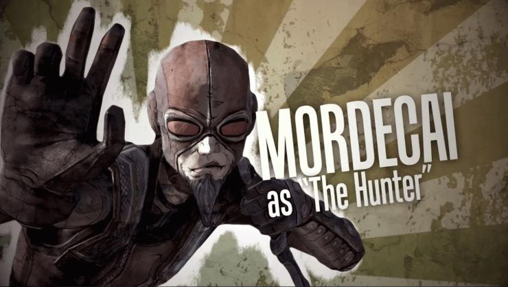 Borderlands 1 Mordecai