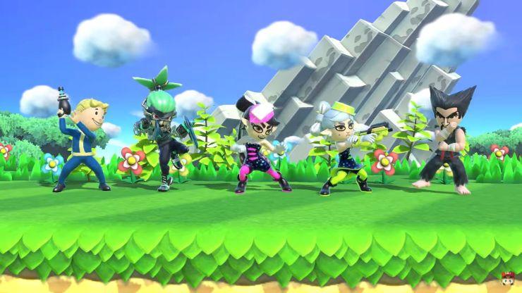 Super Smash Bros. Ultimate - Min Min - ARMS