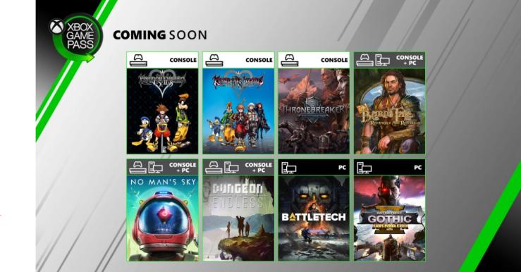 Xbox Game Pass junio 2020