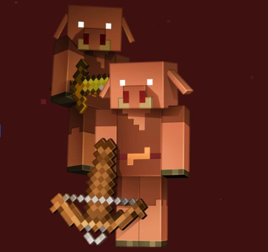 Minecraft piglins