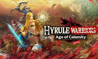 Hyrule Warriors: Age of Calamity portada fondo de pantalla