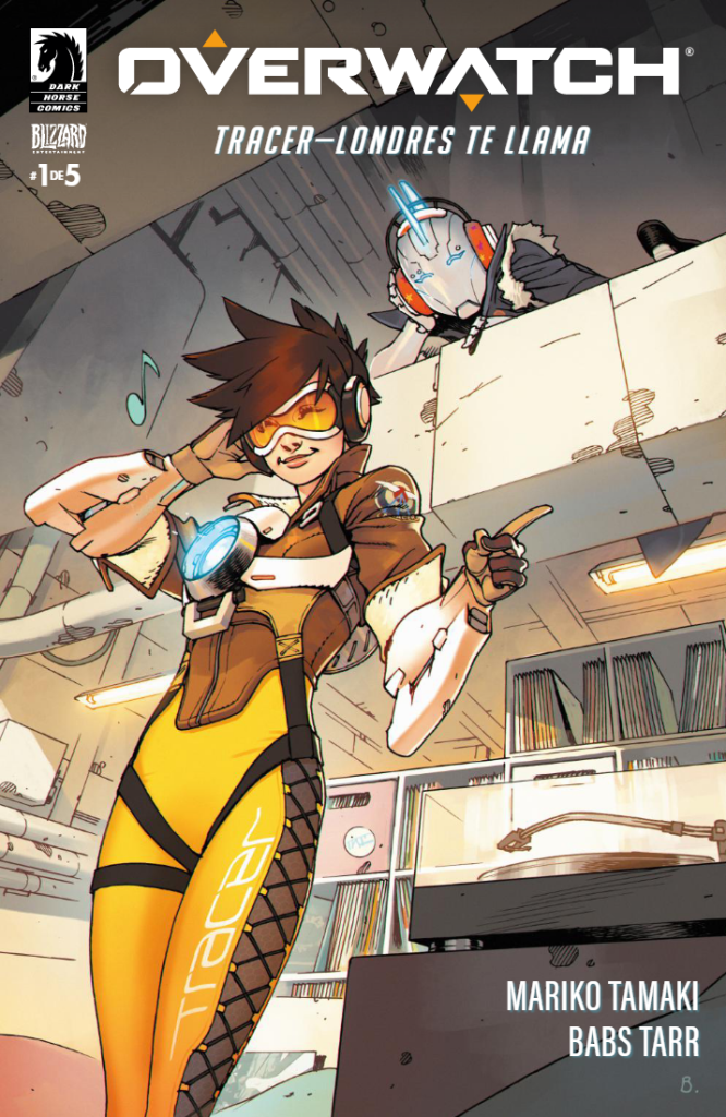 Overwatch Cómic Tracer