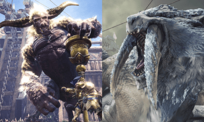 Monster Hunter World Iceborne eventos Rajang Rabioso Barioth Cynodon gigantes