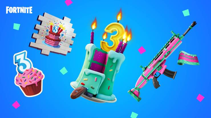 Desafíos cumpleaños fortnite recompensas