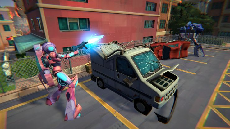 Transformers: Battlegrounds jugabilidad