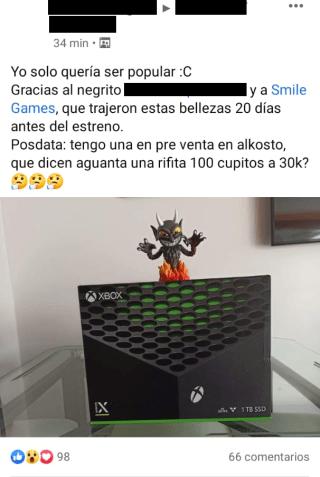 Xbox Series X venta tienda Colombia