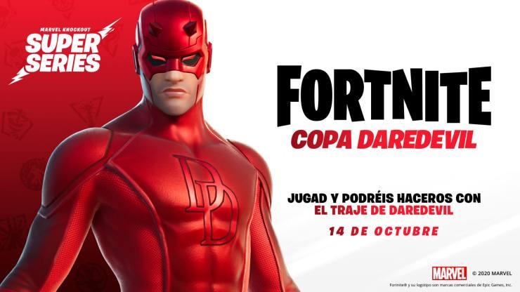 Marvel Knockout Super Series fortnite darevevil