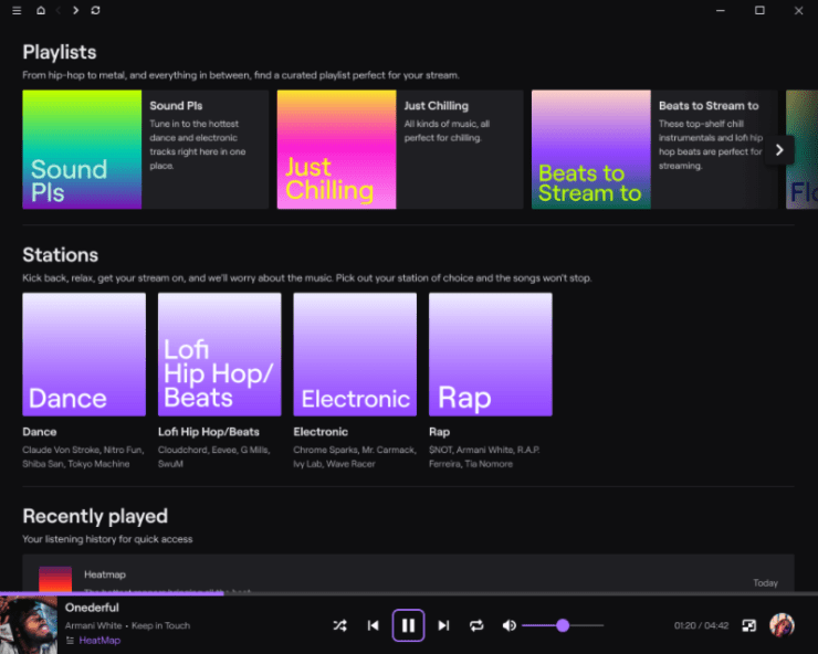 Twitch música soundtrack