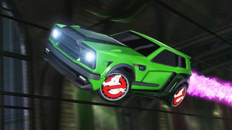 Cazafantasmas Rocket League