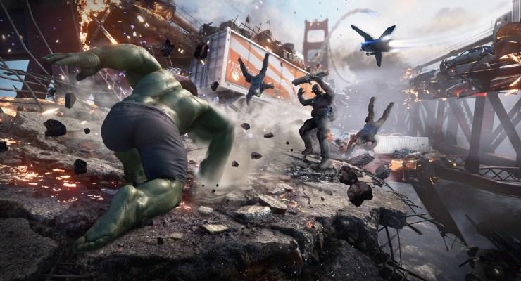 Marvel's avengers ping