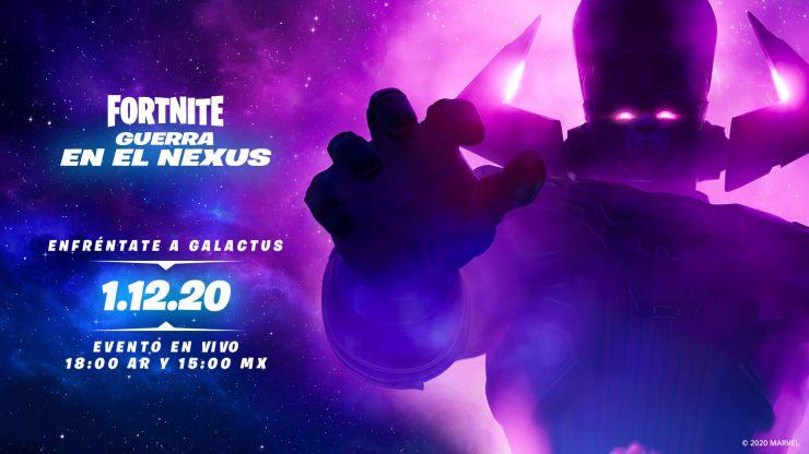 Galactus Fortnite evento
