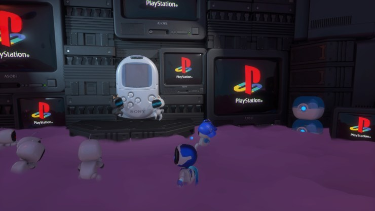 Astros Playroom juegos PlayStation referencias cameos PS5 PlayStation 5