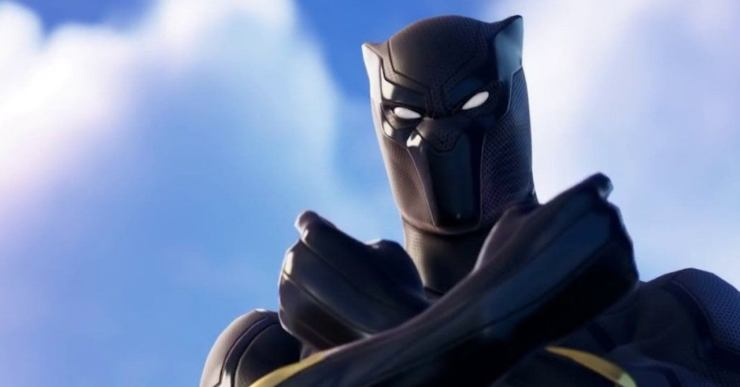 Black Panther Pantera Negra Fortnite capitana marvel