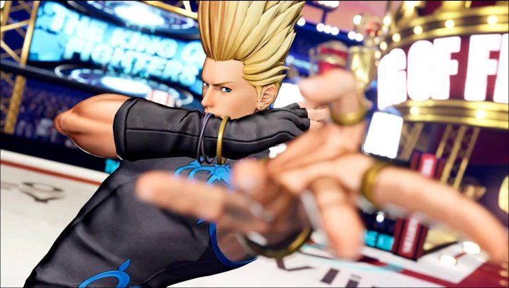 Benimaru Nikaido en KOF XV  The King of Fighters XV Hero Team