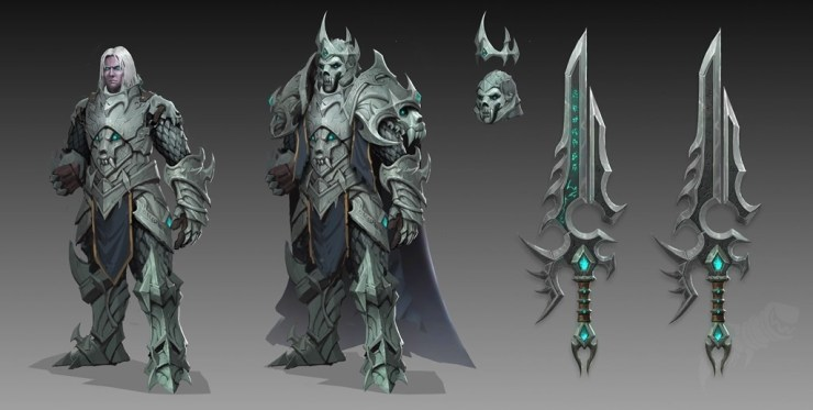 Anduin Wrynn en World of Warcraft: Shadowlands, durante el parche 9.1: Chains of Domination.
