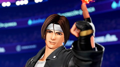 Kyo Kusanagi KOF XV Iori Yagami Chiuzuru Kagura The King of Fighters XV