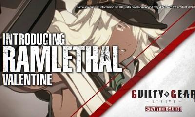 Así lucha Ramlethal Valentine en Guilty Gear -STRIVE-
