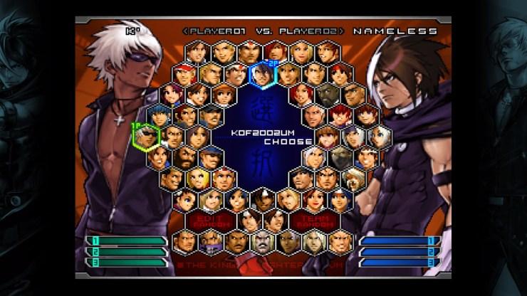 Playstation 4 KOF 2002 um