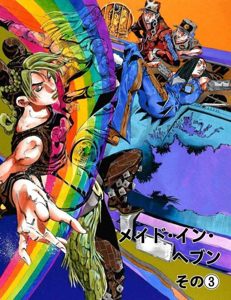 Jojo's Bizarre Adventure: Stone Ocean Jolyne anime quién es Jolyne Cujoh