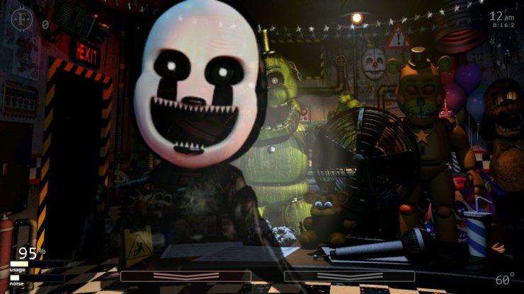 Five Nights at Freddy's: Ultimate Custom Night es el más reciente juego de FNAF en llegar a consolas