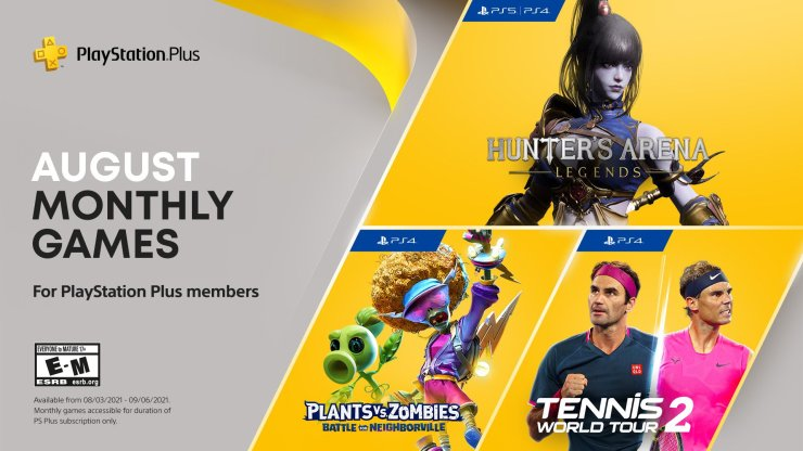 PS Plus PlayStation agosto 2021 PS5 PS4 Plants vs Zombies: Battle for Neighborville
