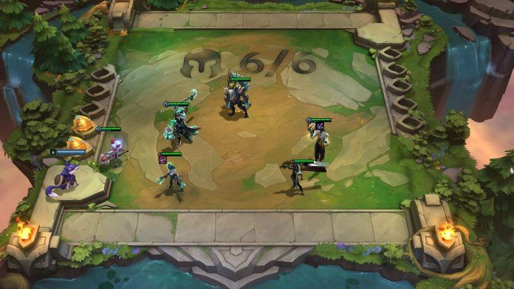 TeamFight Tactics (TFT) Set 'Amanecer Héroes' (versión 11.15) Centinelas Luz