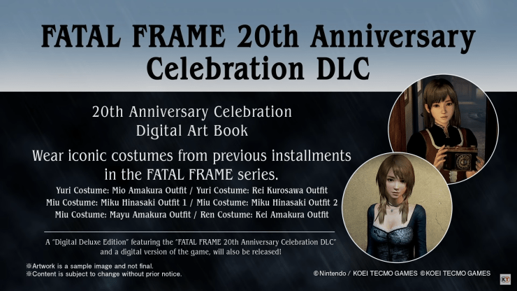 Nuevo tráiler de Fatal Frame: Maiden of the Black Water revela fecha de lanzamiento, mejoras de la nueva versión, DLC y trajes