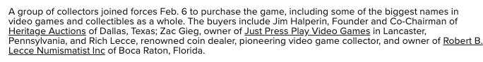 mercado videojuegos retro valorización